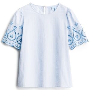Draper James Saki Embroidered Top